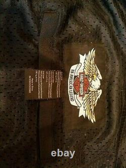 NEW Harley Davidson Switchback Jacket 3xl / XXXL Reflective Strips for riding