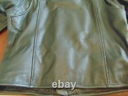 NEW Men's Harley Davidson Bar And Shield Leather Riding Jacket Size Large