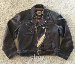 NWT Original Harley Davidson genuine leather road master jacket men size XXL XL