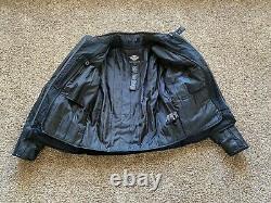 New Men's Harley Davidson Evolution leather jacket Large $599 retail