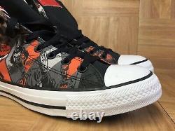 RARE Converse Chuck Taylor ALL STAR Harley Quinn Batman Sz 10 Men's Shoes