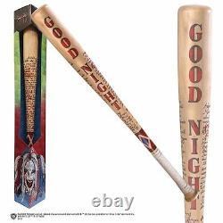Suicide Squad Joker Harley Quinn Baseball Bat Prop Replica Cosplay NEW