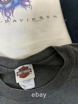 Vintage Harley Davidson Biker T Shirt Lot Of 18 New Era 80s 90s 2000s