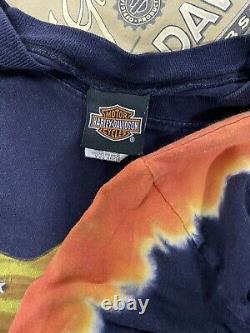 Vintage Harley Davidson Biker T Shirt Lot Of 20 New Era 90s 2000s