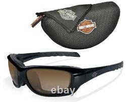 Wiley X Harley-Davidson GRAVITY Transition / Photochromic Sunglasses, Brown Lens